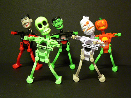 Noggin Bops just might be the best Halloween wind-up toys EVER.