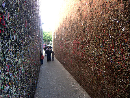 Bubblegum Alley: where all wads of bubblegum go to die.