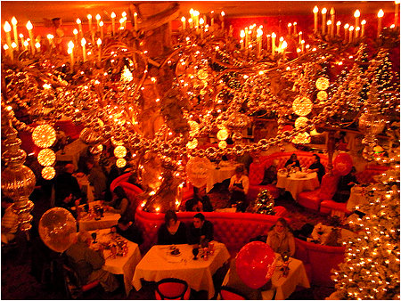 The Gold Rush Steak House at the Madonna Inn puts the electric company to the test.