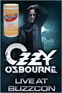 Don't forget your fiber, Ozzy!