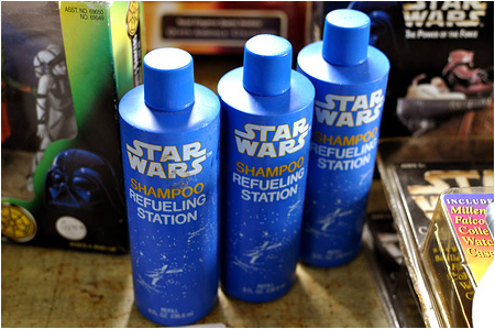 Star Wars Refueling Station Shampoo!
