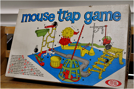Mouse Trap is everywhere.