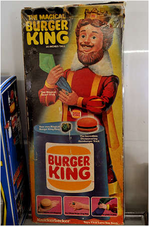 The Magical Burger King!