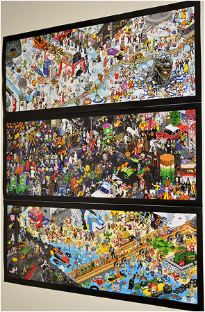 The Pixel Poster 3-Pack! You get ALL THREE pixel posters shipped together at a discounted cost! Now available on I-Mockery.com!