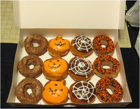 Krispy Kreme Halloween Donuts! : halloween donut decorating ideas - www.pureclipart.com