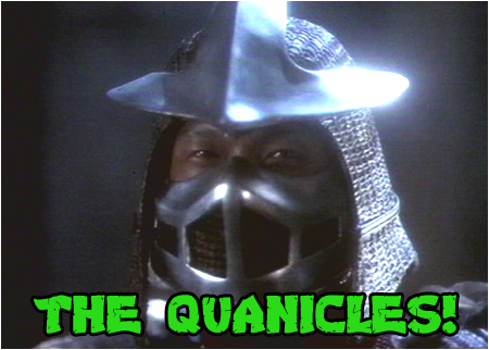 Master Shredder stars in The Quanicles prank phone call!