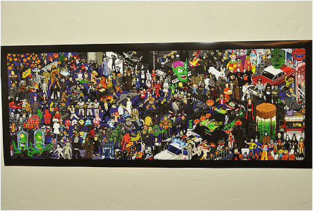 Introducing the Ultimate Retro Halloween Party Pixel Poster! Now available on I-Mockery.com!