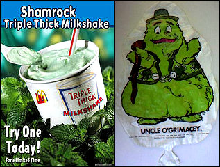 Drink my Shamrock Shake, ye Irish Bastards!