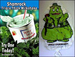 Drink my Shamrock Shake, ye Irish Bastards!