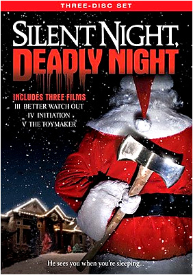 Silent Night, Deadly Night DVD 3-pack! Better Watch Out! Initiation! The Toymaker!