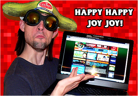 I-Mockery's huge redesign is live! Happy Happy Joy Joy!