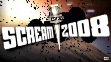 Spike TV's 2008 Scream Awards. The only awards show that gives you a weapon to stab people with if you win.