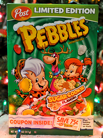 Post Pebbles Sugar Cookie Cereal!