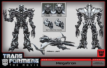 Ok, so where's Megatron under all that crap?