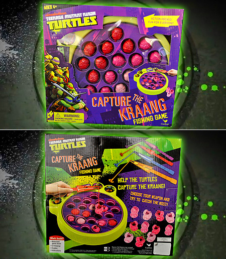The Teenage Mutant Ninja Turtles Capture The Kraang Fishing Game!