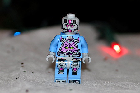 Behold the Kraang (or Krang) LEGO figure!