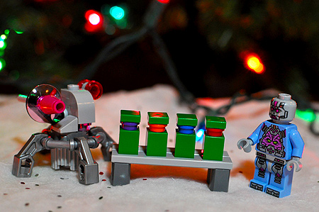Stocking Stuffer: The TMNT Kraang Laser Turret (Turtle Target Practice) Set!