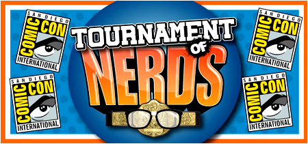 Come see me perform in a special LIVE performance of the Tournament of Nerds at Comic-Con!