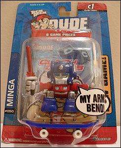 My arms bend! My skateboard rolls! My soul cries!