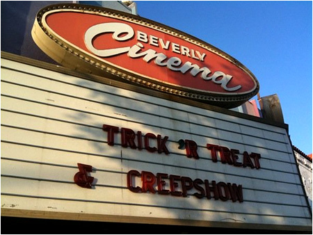 Trick 'r Treat and Creepshow all in one night? Egad!