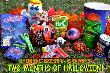 Greetings, ghosts 'n goblins! Welcome to I-Mockery's 2015 Halloween season!