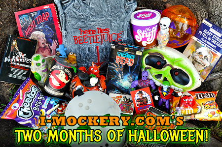 Greetings, ghosts 'n goblins! Welcome to I-Mockery's 2017 Halloween season!