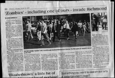 Zombies Invade Richmond! :o