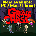 Grave Chase is now available on Steam for PC, Mac, & Linux! A perfect video game for the Halloween season!