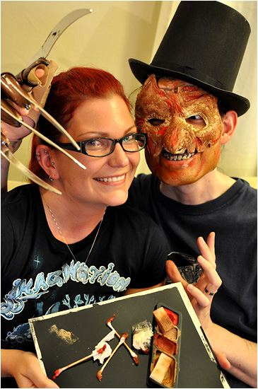 I-Mockery.com | The Freddy Krueger Face & Makeup Kit!