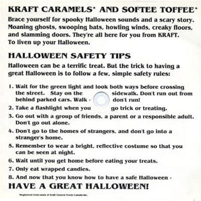 i mockery com kraft gets spooky  kraft made some good treats n all but i think receiving a box of their mac n cheese while trick or treating would ve been far more exciting for any kid