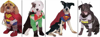 LOOK UP IN THE SKY! ITu0027S SUPERWRONG! & I-Mockery.comu0027s Halloween Grab Bag - Pet Costumes!