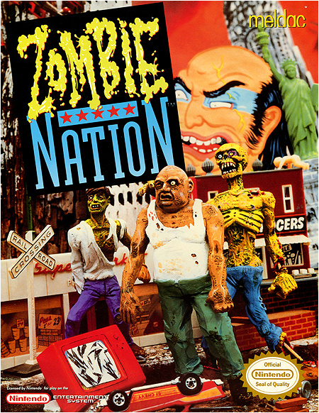 Zombie Nation for the NIntendo Entertainment System!