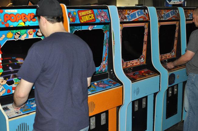 duck hunt arcade machine