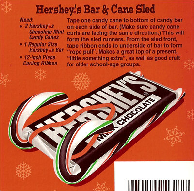 candy cane kit kat sleds | just b.CAUSE