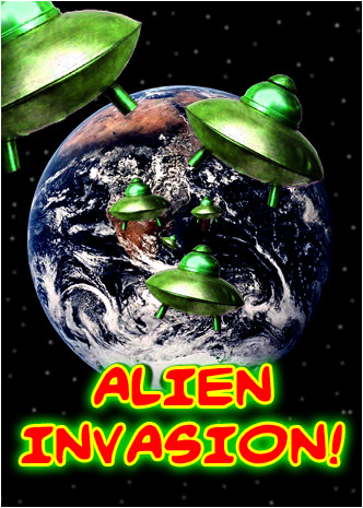 Alien Invasion Click Begin The Story