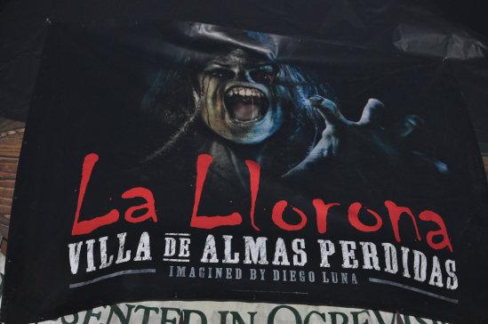 la llorona villa de almas perdidas finally la llorona gets turned into a full maze at halloween horror nights