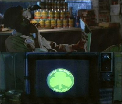 the commercial is advertising silver shamrock novelties line of popular halloween