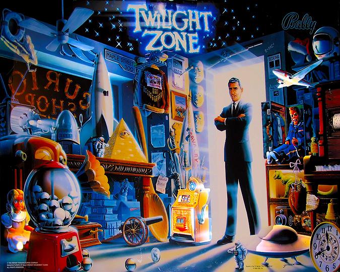 twilight zone slot machine