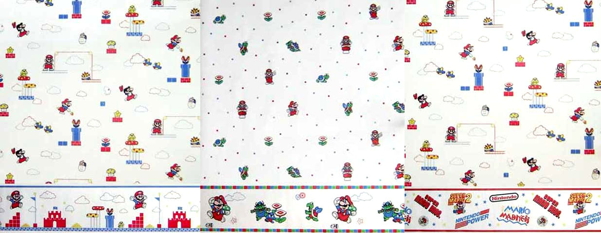 And What Good Is Wallpaper Without Some Nice Walltrim Fret Not  Mario  Bedroom Wallpaper Super. Mario Bedroom Wallpaper