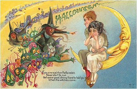 I-Mockery.com | Vintage Halloween Cards: Part 3