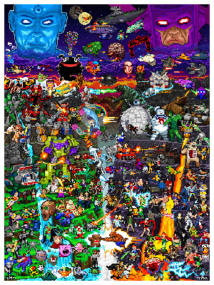 Click to order your 8-bit Worlds Collide print!